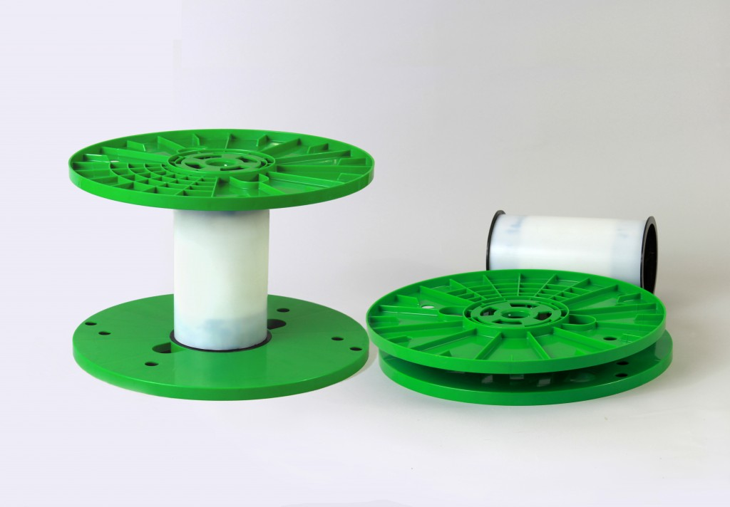 Plastic Breakdown Reels - Assembled and Disassembled